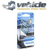 0730285 Philips 12961WVUB2 White Vision Ultra W5W 2 stuks (1)