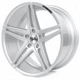 Z-Performance Wheels ZP4.1 20 Inch 9J ET35 5x112 Sparkling Silver_