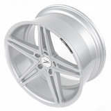 Z-Performance Wheels ZP4.1 19 Inch 8.5J ET35 5x120 Sparkling Silver_