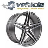 Z-Performance Wheels ZP4.1 19 Inch 9.5J ET45 5x112 Gun Metal Polished_