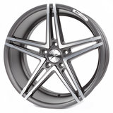 Z-Performance Wheels ZP4.1 19 Inch 8.5J ET45 5x112 Gun Metal Polished_