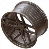 Z-Performance Wheels ZP2.1 20 Inch 11J ET40 5x120 Flow Forged Flat Carbon Bronze_