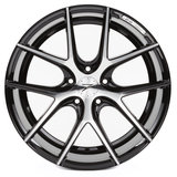 Z-Performance Wheels ZP.09 19 Inch 9J ET45 5x120 Phantom Black Polished_