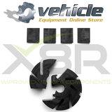 X8R0173 Mercedes PSE Centrale Deurvergrendeling Vacuümpomp Impeller SL,S,CL-Klasse R230 W220 C215 (3)