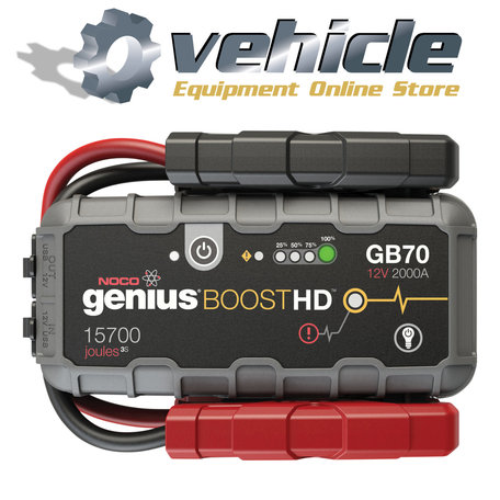 Noco Genius GB70 Lithium Boost HD Jump Starter 2000A