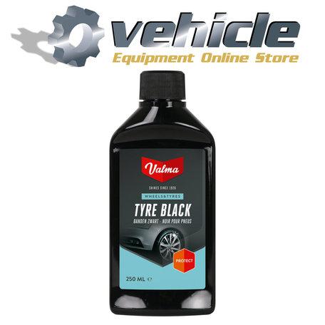 Valma A25S Tyre Black Banden Zwart 250ml
