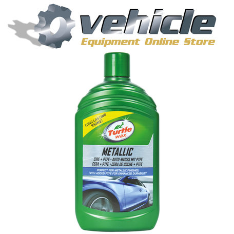 Turtle Wax 52870 Metallic Wax + PTFE 500ml