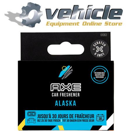 AXE Navulling Luchtverfrisser Alu Houder Alaska 2 Stuks