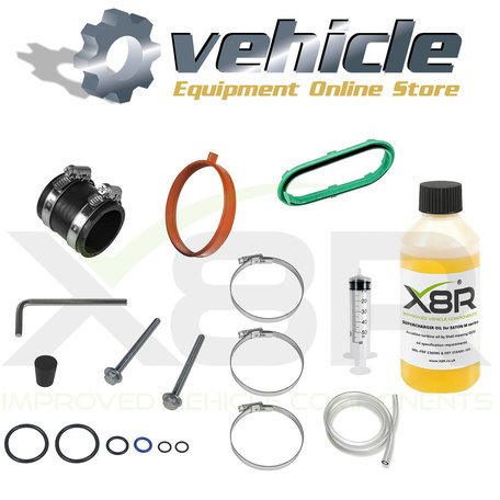 BMW Mini Cooper S R53 R52 Eaton Supercharger Olie Service Kit Handgeschakeld