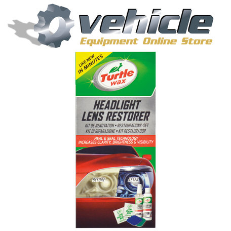 Turtle Wax 51768 GL Headlight Lens Restorer Kit