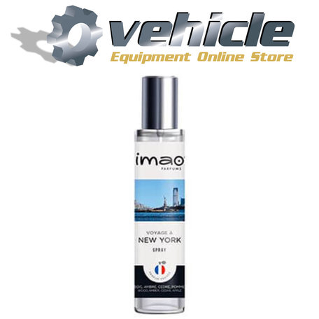IMAO Auto Parfum Spray Voyage à New York