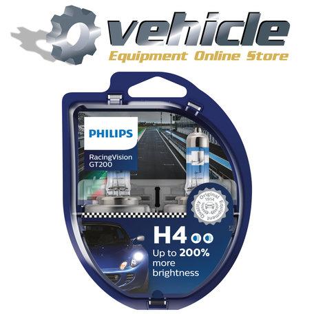 Philips H4 Racing Vision GT200 12342RGTS2 2 stuks
