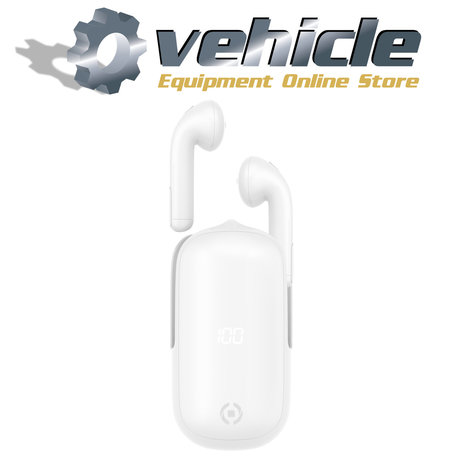 Celly Slide1 Draadloze Bluetooth Oordopjes Earbuds Wit