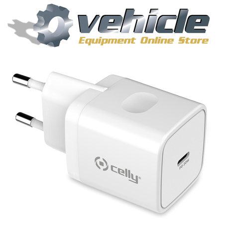 Celly Thuislader USB-C 20 Watt Pro Power