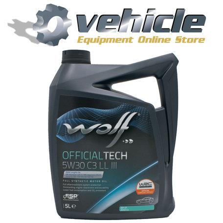 Wolf Officialtech 5W30 C3 LL III 5 Liter
