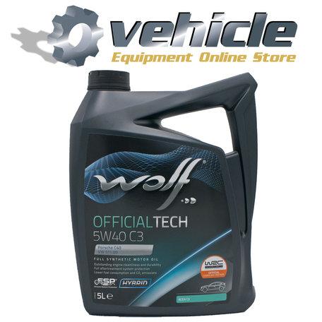 Wolf Officialtech 5W40 C3 5 Liter