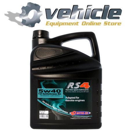 5W40 Motorolie RS4 Sport Vol Synthetisch Jaso MA - 5 liter