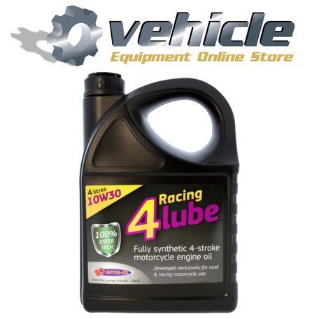 10W30 Motorolie Racing 4 Lube 100% Synth Ester Tech - 4 liter