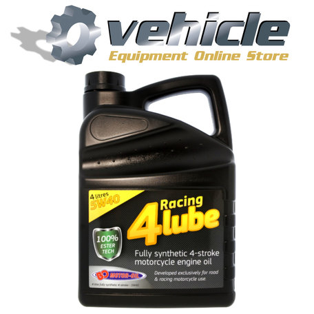 5W40 Motorolie Racing 4 Lube 50% Synth Ester Tech - 4 liter
