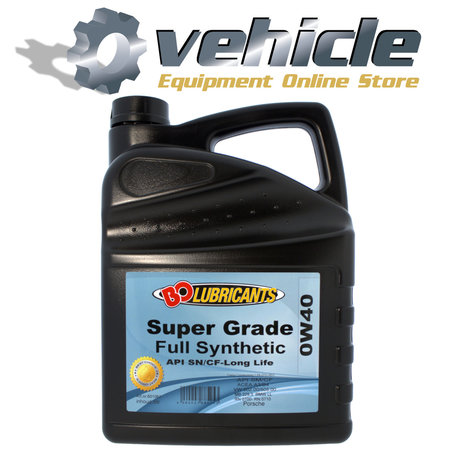 0W40 Motorolie Super Lube SN/CF Long Life Vol-synthetisch 5 liter