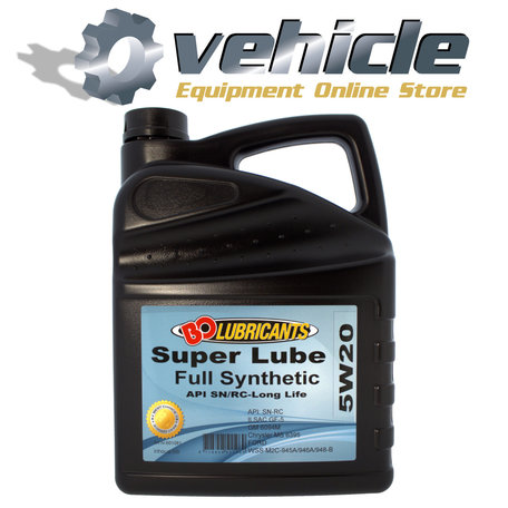 5W20 Motorolie Super Lube SN/RC Long Life Vol-Synthetisch 5 liter