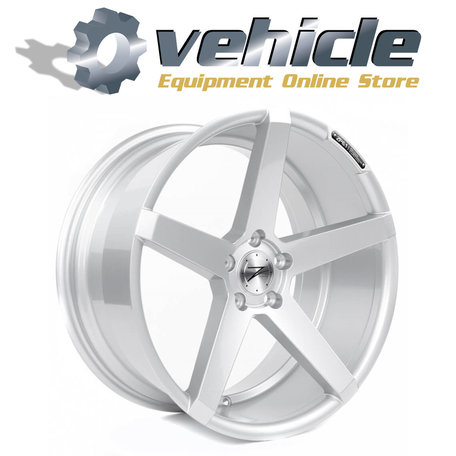 Z-Performance Wheels ZP6.1 19 Inch 9.5J ET45 5x112 Sparkling Silver