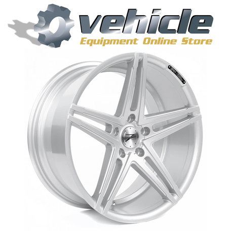 Z-Performance Wheels ZP4.1 19 Inch 9.5J ET45 5x112 Sparkling Silver