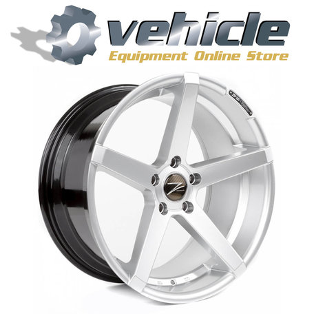 Z-Performance Wheels ZP.06 19 Inch 9.5J ET35 5x120 Sparkling Silver