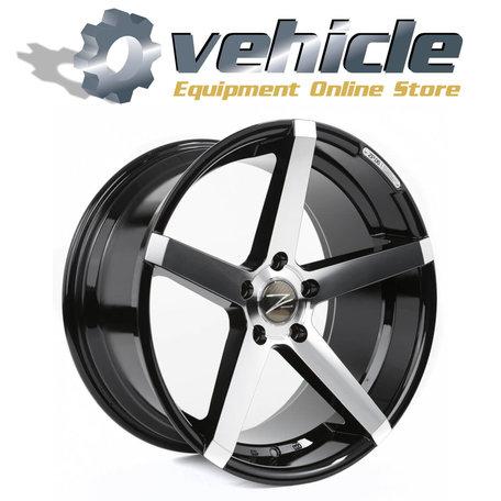 Z-Performance Wheels ZP.06 20 Inch 10J ET45 5x120 Phantom Black Polished