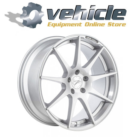 Z-Performance Wheels ZP.08 20 Inch 10J ET35 5x120 Sparkling Silver