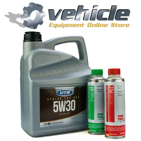 5W30 VW504-507 Motorolie & Engine Flush & Fuel Line Cleaner