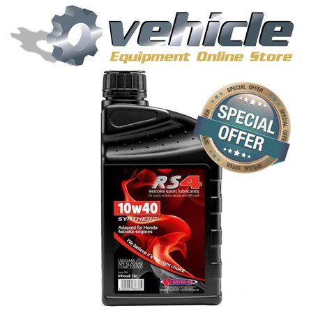 3x 10W40 Motorolie Honda RS4 Sport JASO MA - SL/SH/SJ - 1 liter