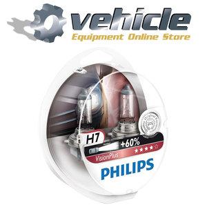 0730530 Philips H7 VisionPlus 12972VPS2 2 stuks