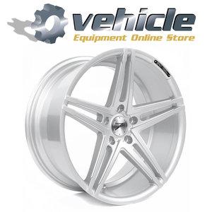 Z-Performance Wheels ZP4.1 19 Inch 9.5J ET40 5x120 Sparkling Silver