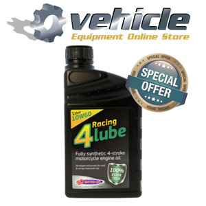BO52191-PACK 10W60 Racing 4 Lube 100% Synth Ester Tech - 1 liter