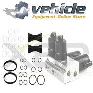 X8R0147 Mercedes ABC Ventielblok Solenoid O-ringen Reparatie Revisie Set Luchtvering (1)